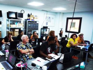 Formation community manager - Salle de cours