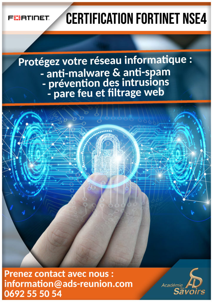 Formation fortinet